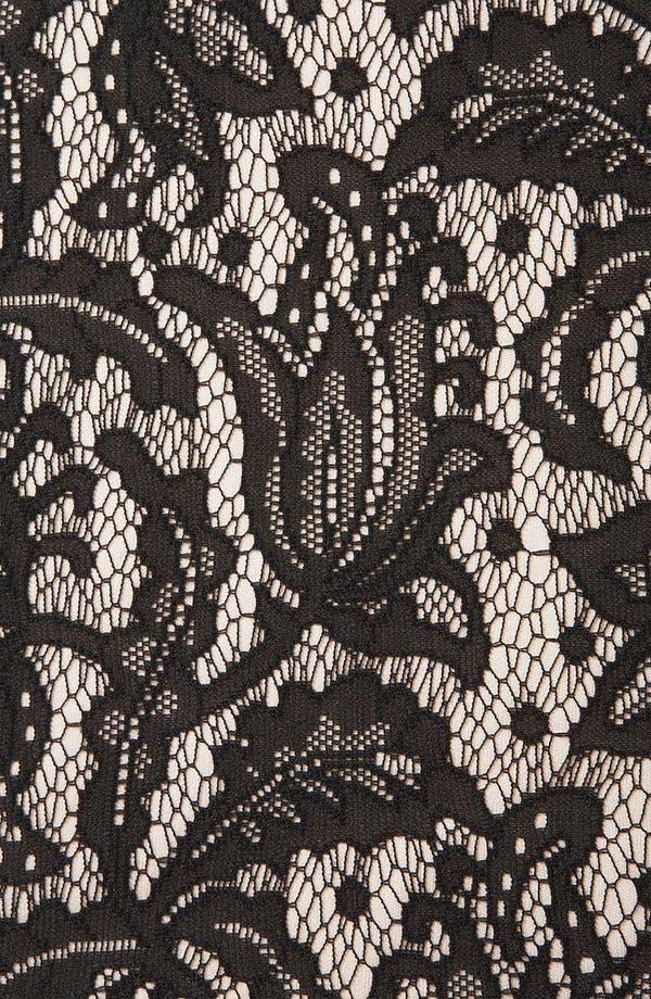 Alternate Image 3  - Topshop Lace Pencil Dress