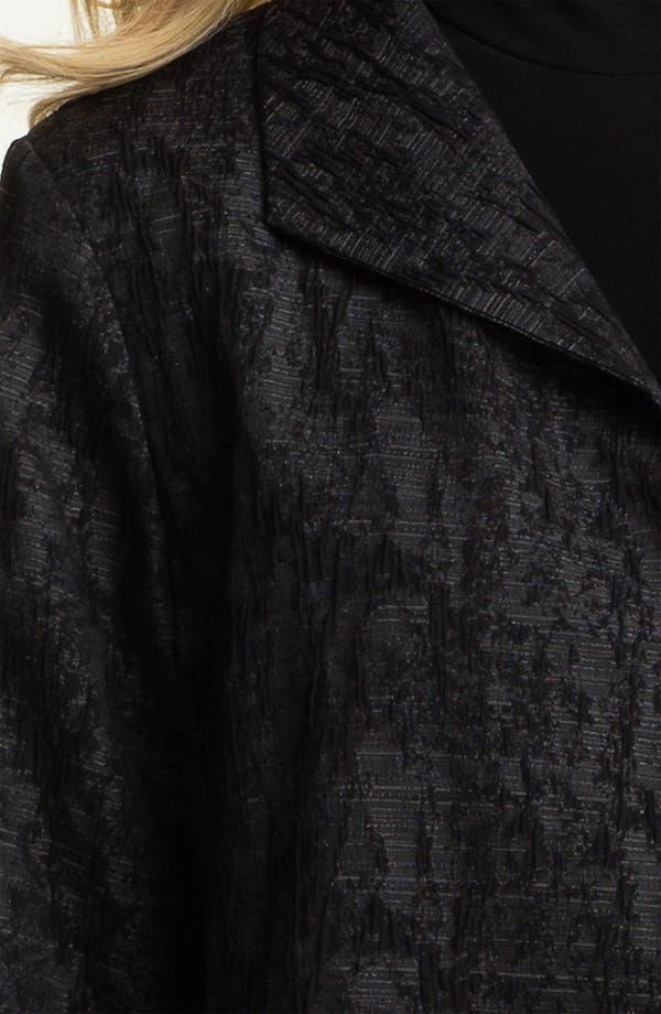 Alternate Image 3  - Eileen Fisher Jacquard Coat (Online Exclusive)