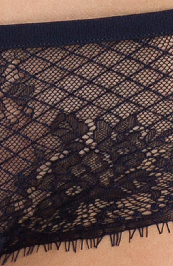 Alternate Image 3  - Calvin Klein Eyelash Lace Hipster Briefs