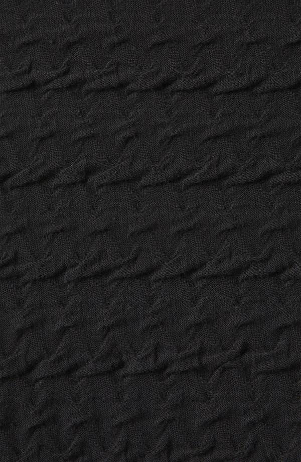 Alternate Image 3  - Topshop Textured Skater Dress