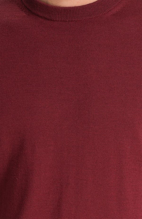 Alternate Image 3  - Nordstrom Traditional Fit Merino Wool Crewneck Sweater