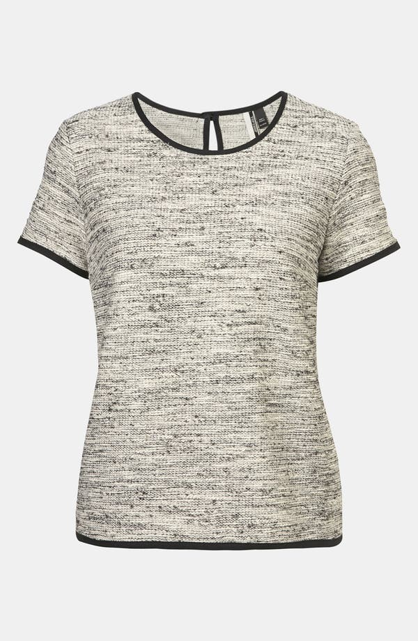 Alternate Image 1 Selected - Topshop Bouclé Tee