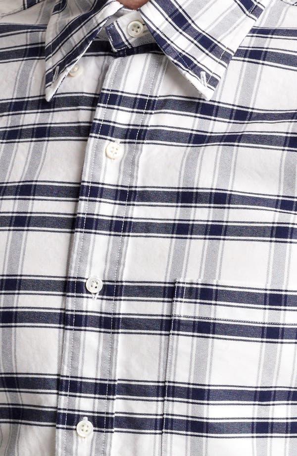 Alternate Image 4  - Thom Browne Check Oxford Shirt