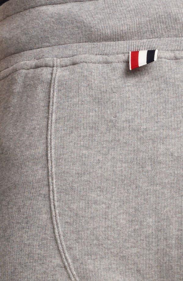 Alternate Image 4  - Thom Browne Cotton Terry Sweatpants