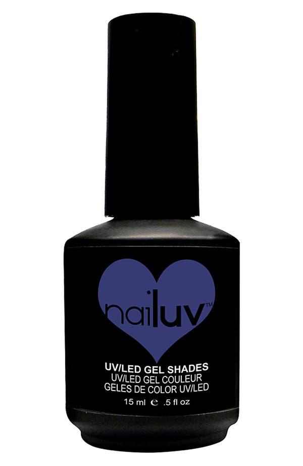 Alternate Image 1 Selected - NaiLuv™ 'Blue Illusion' Gel Nail Polish