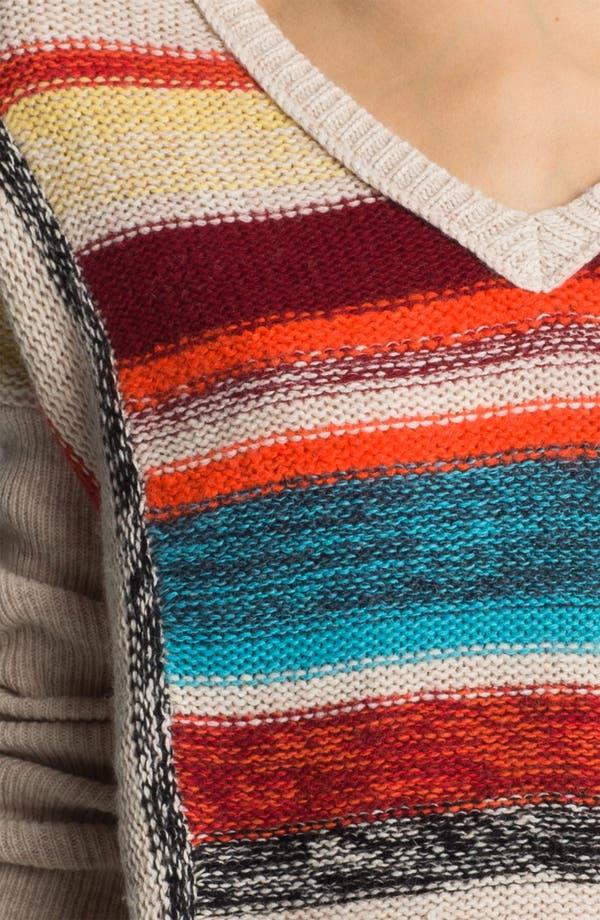 Alternate Image 3  - Velvet by Graham & Spencer Stripe Sweater
