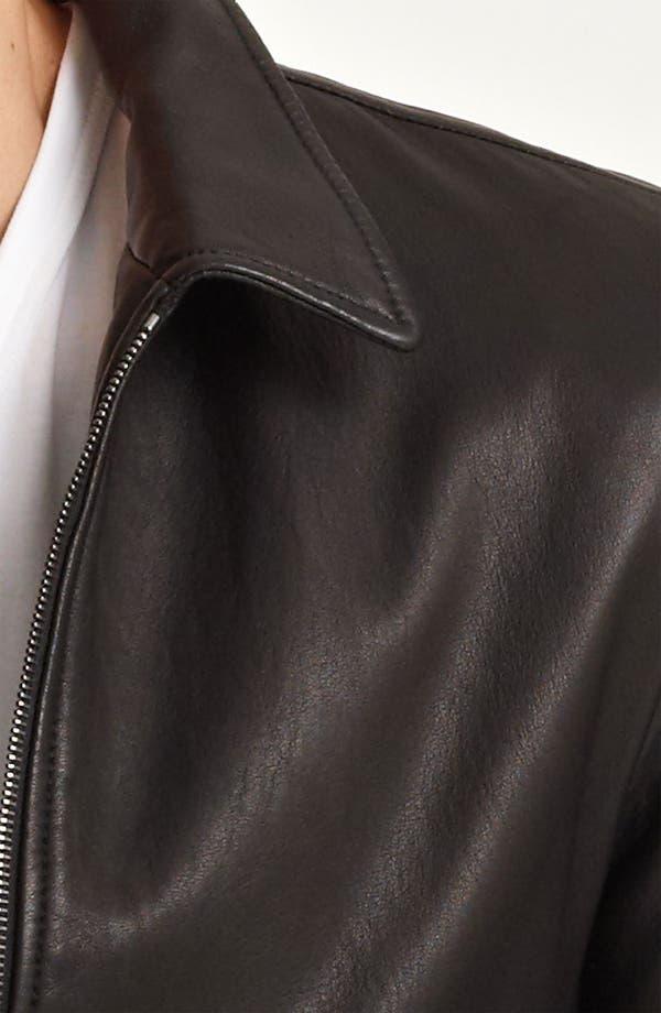 Alternate Image 3  - Dolce&Gabbana Leather Biker Jacket