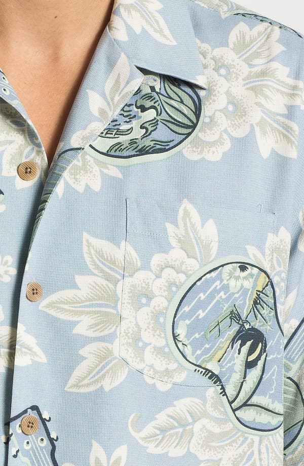 Alternate Image 3  - Tommy Bahama 'Island Jams' Silk Campshirt (Online Only)