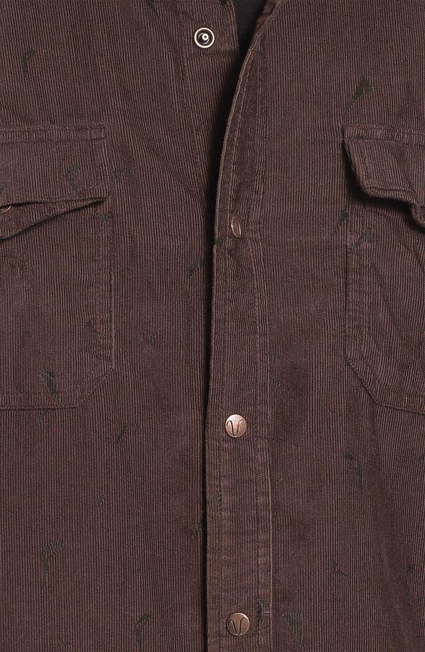 Alternate Image 3  - Volcom 'Stacked' Corduroy Shirt