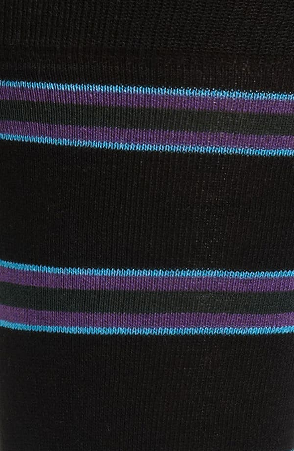 Alternate Image 2  - Bugatchi Uomo Stripe Socks