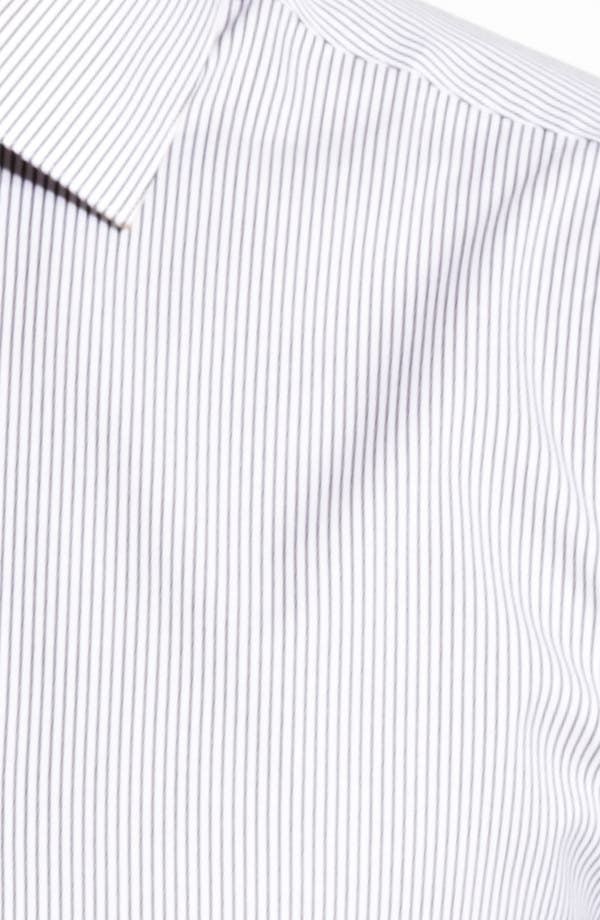 Alternate Image 2  - John Varvatos Collection Trim Fit Stripe Dress Shirt
