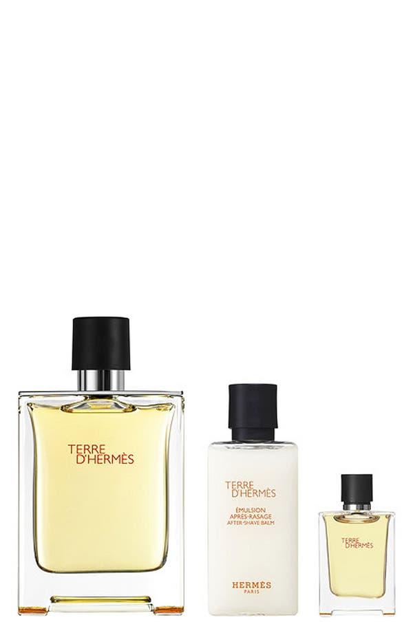 Alternate Image 1 Selected - Hermès Terre d'Hermès - Eau de toilette gift set