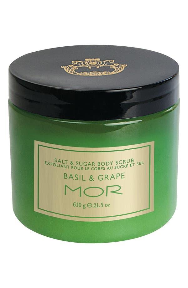Alternate Image 1 Selected - MOR 'Basil & Grape' Salt & Sugar Body Scrub