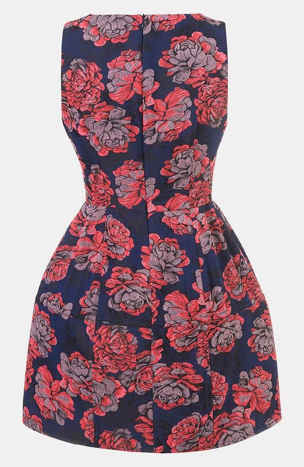 Alternate Image 2  - Topshop 'Champion' Floral Jacquard Dress