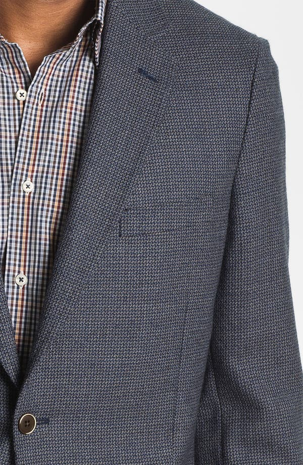 Alternate Image 3  - Peter Millar Wool Sportcoat