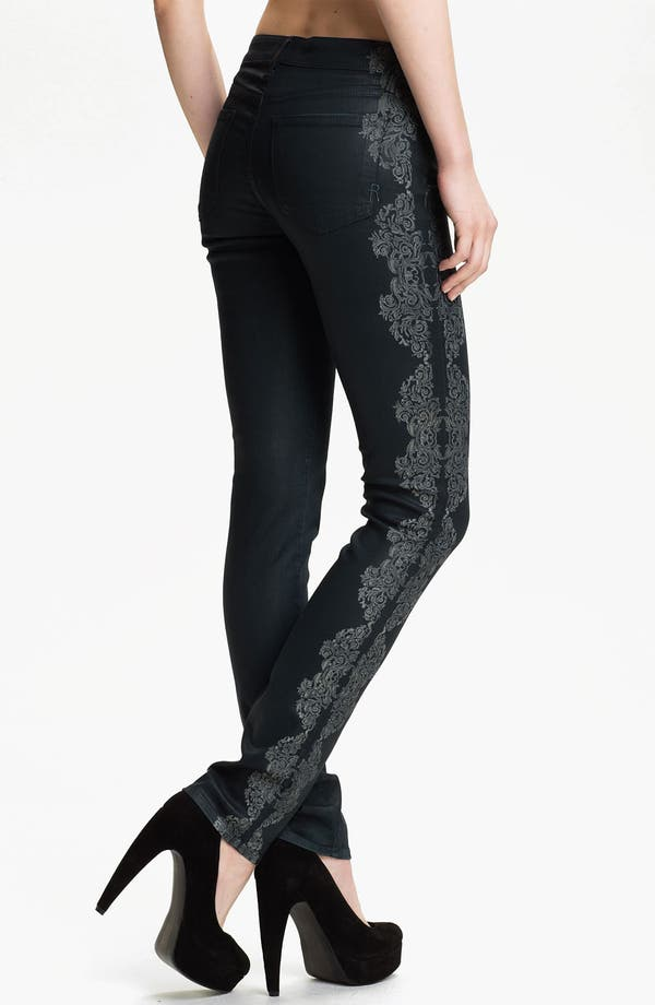 Alternate Image 2  - Rich & Skinny 'Legacy' Coated Skinny Jeans (Temperance)