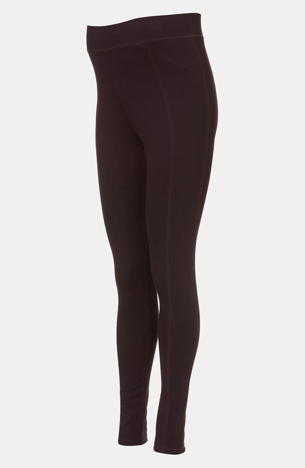 Alternate Image 2  - Topshop Ponte Knit Maternity Leggings