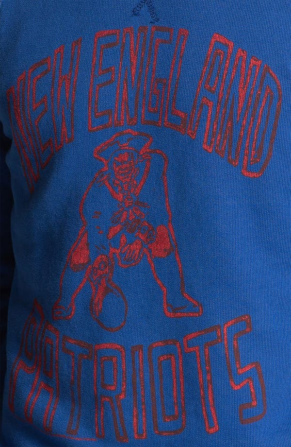 Alternate Image 3  - Junk Food 'New England Patriots' Sweatshirt