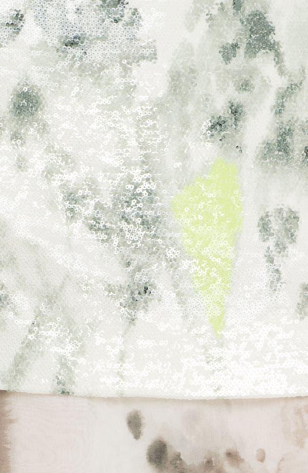 Alternate Image 3  - Diane von Furstenberg 'Elley' Sequin Print Miniskirt
