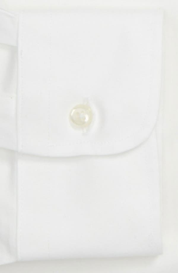 Alternate Image 4  - Nordstrom Men's Shop Smartcare™ Classic Fit Solid Dress Shirt (Online Only)