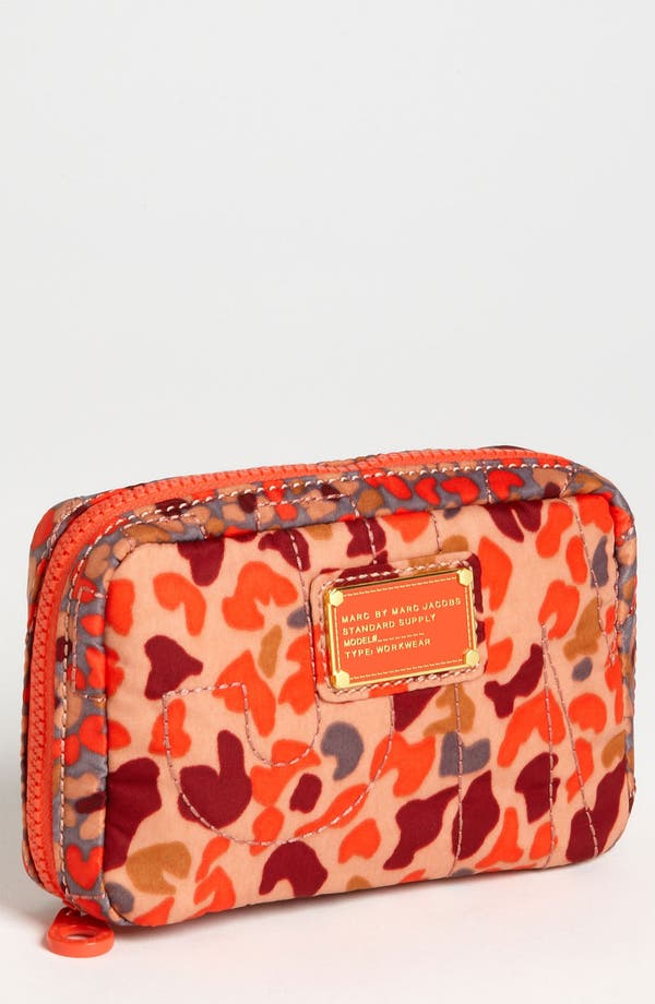 Main Image - MARC BY MARC JACOBS 'Pretty Nylon - Garden Camo' Compact Travel Case