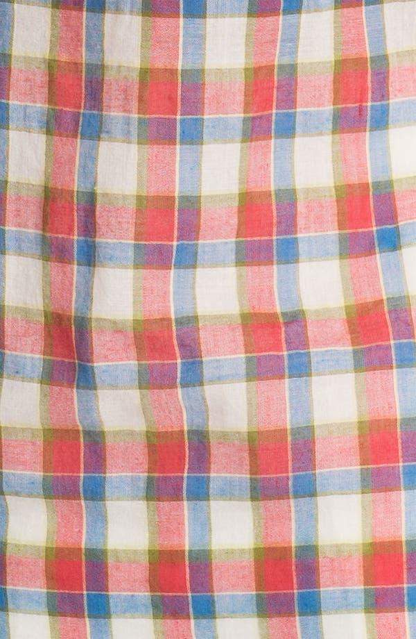 Alternate Image 3  - Sandra Ingrish Two Pocket Plaid Shirt