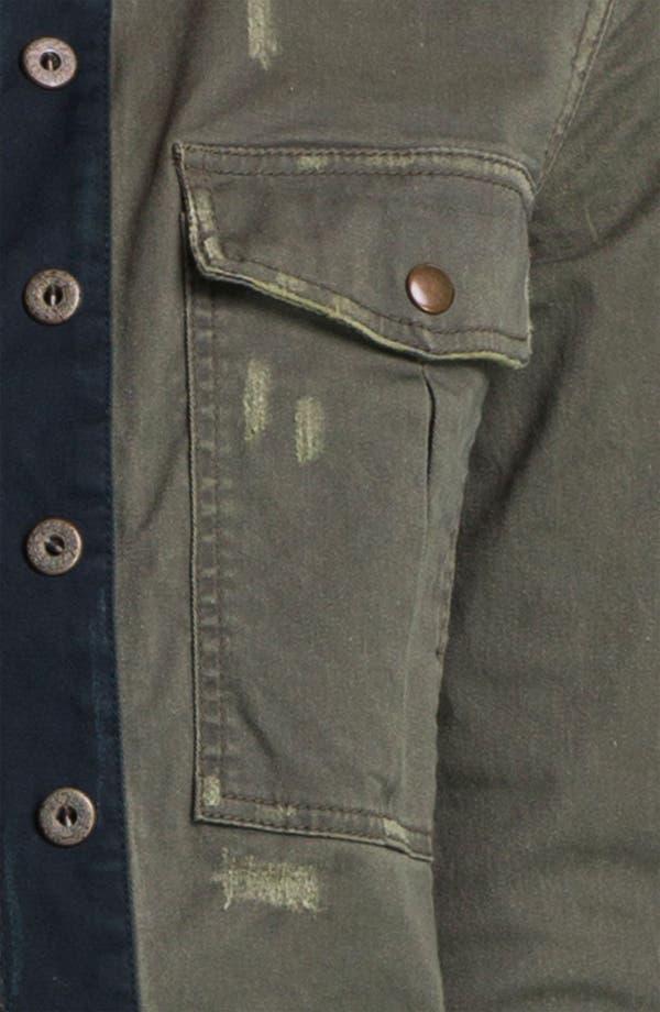 Alternate Image 3  - Free People Cropped Military Surplus Jacket