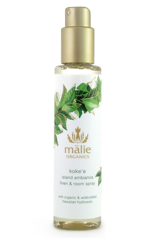Main Image - Malie Organics Koke'e Organic Linen & Room Spray