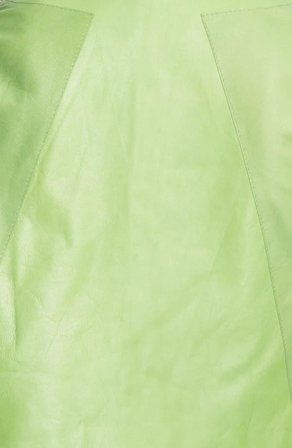 Alternate Image 3  - Lafayette 148 New York Lambskin Leather Bolero Jacket