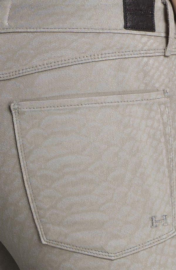 Alternate Image 3  - Habitual 'Grace' Coated Print Skinny Jeans
