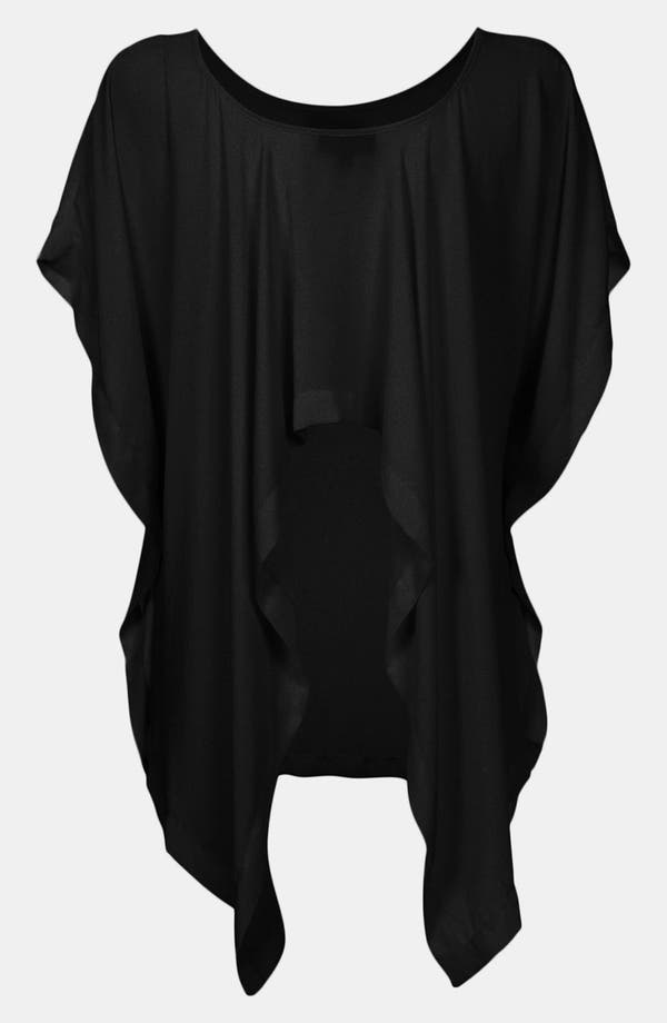 Alternate Image 2  - Topshop Waterfall Back Tunic (Petite)