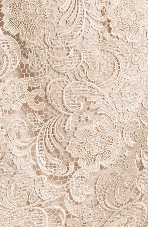 Alternate Image 3  - Adrianna Papell Sleeveless Lace Dress (Plus Size)