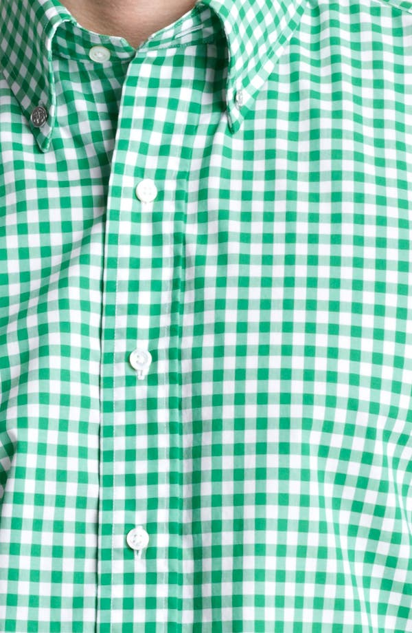 Alternate Image 3  - Brooks Brothers by Jeffrey Gingham Shirt