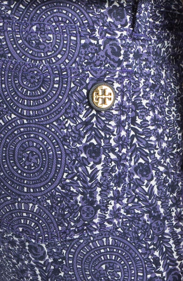 Alternate Image 3  - Tory Burch 'Ivy' Print Skinny Jean