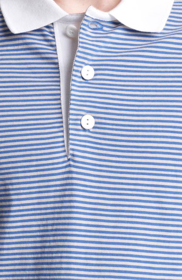 Alternate Image 3  - Shipley & Halmos 'Broome' Stripe Jersey Polo
