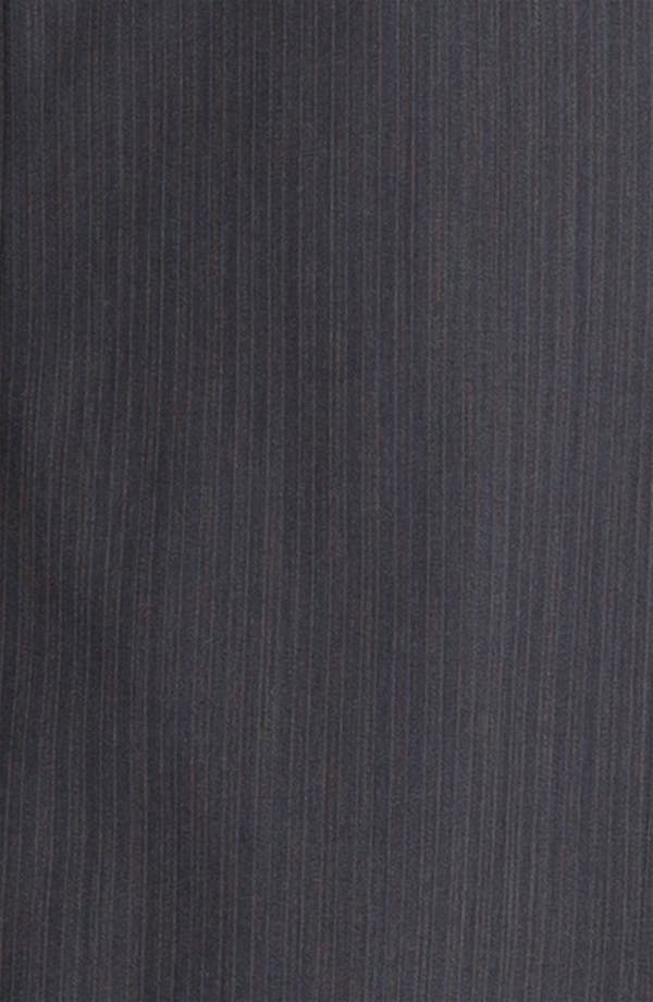 Alternate Image 6  - Ted Baker London Trim Fit Stripe Suit