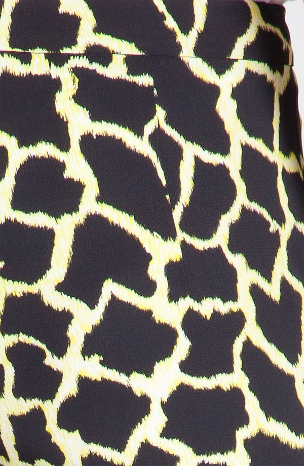 Alternate Image 7  - MSGM Giraffe Print Straight Leg Pants