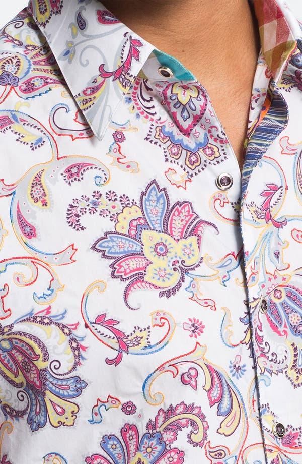 Alternate Image 4  - Robert Graham 'Chitwood' Regular Fit Sport Shirt