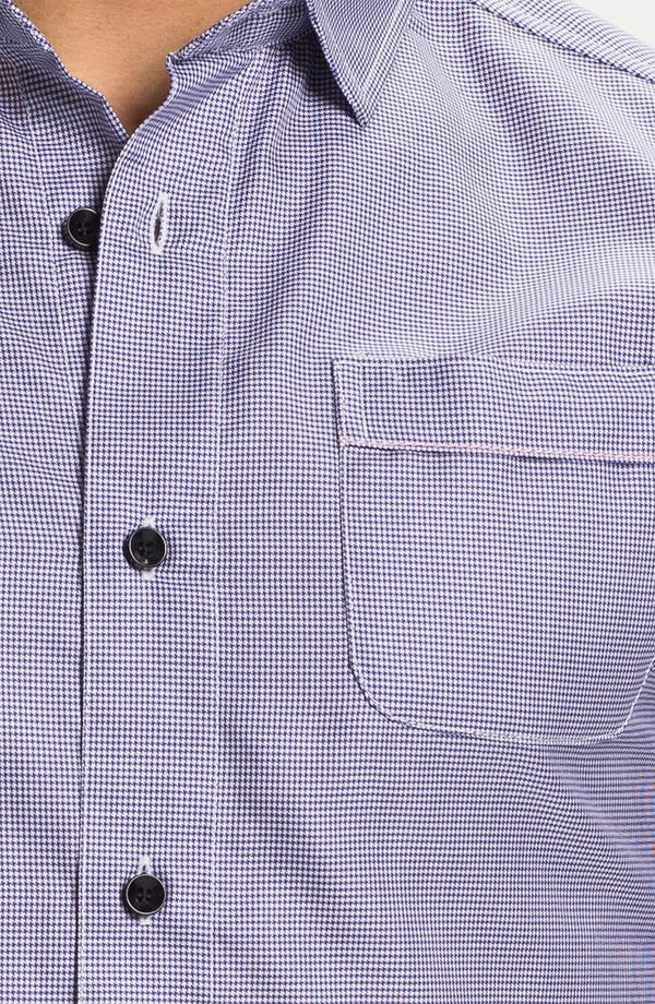 Alternate Image 3  - Descendants of Thieves Micro Houndstooth Shirt