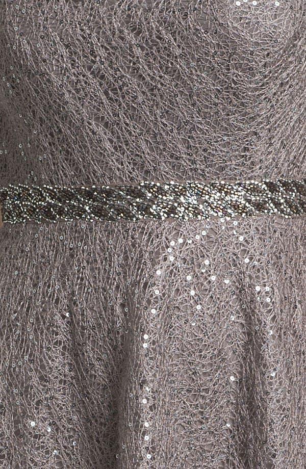 Alternate Image 3  - Kay Unger Sequin Embellished Lace Dress
