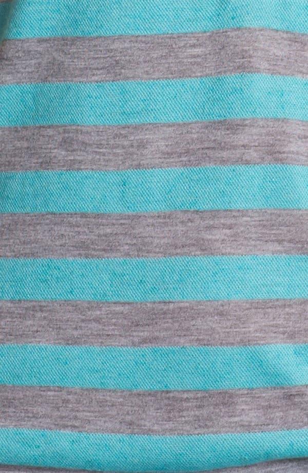 Alternate Image 3  - Caslon Stripe Piqué Henley Tee