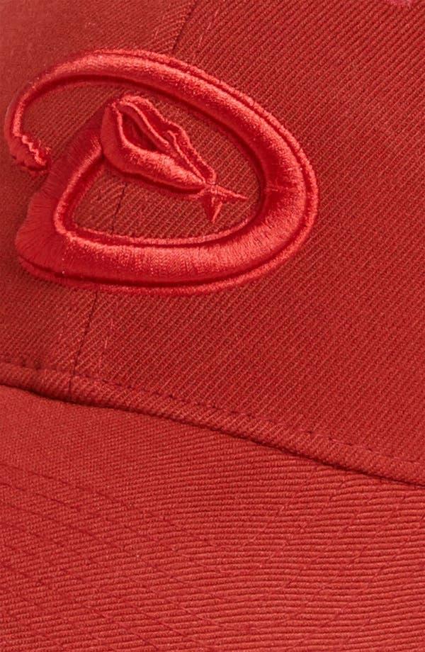 Alternate Image 3  - New Era Cap 'Arizona Diamondbacks - Tonal Classic' Fitted Baseball Cap