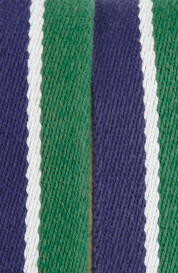 Alternate Image 2  - Brooks Brothers Stripe Canvas  Belt