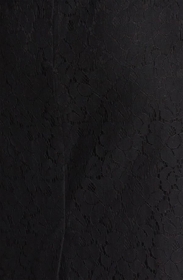 Alternate Image 5  - Halogen® Lace One Button Blazer
