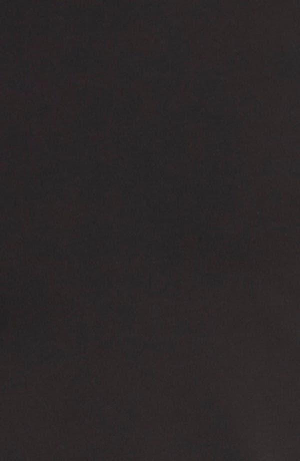 Cool Cotton Crewneck Undershirt,                             Alternate thumbnail 3, color,                             Black