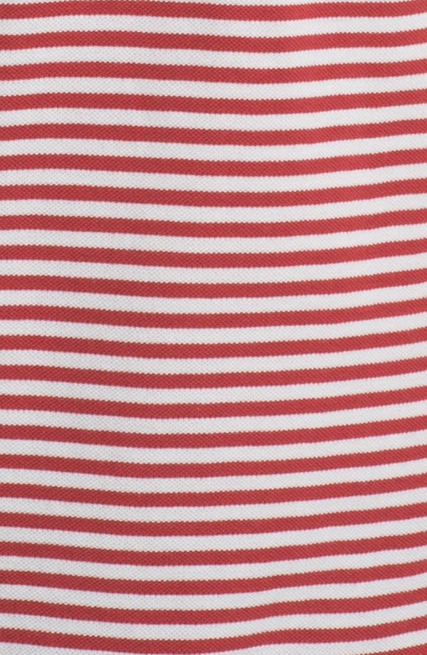 Alternate Image 3  - Gant by Michael Bastian Mini Stripe Piqué Polo
