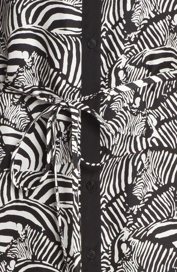 Alternate Image 3  - Trina Turk 'Essie' Silk Shirtdress