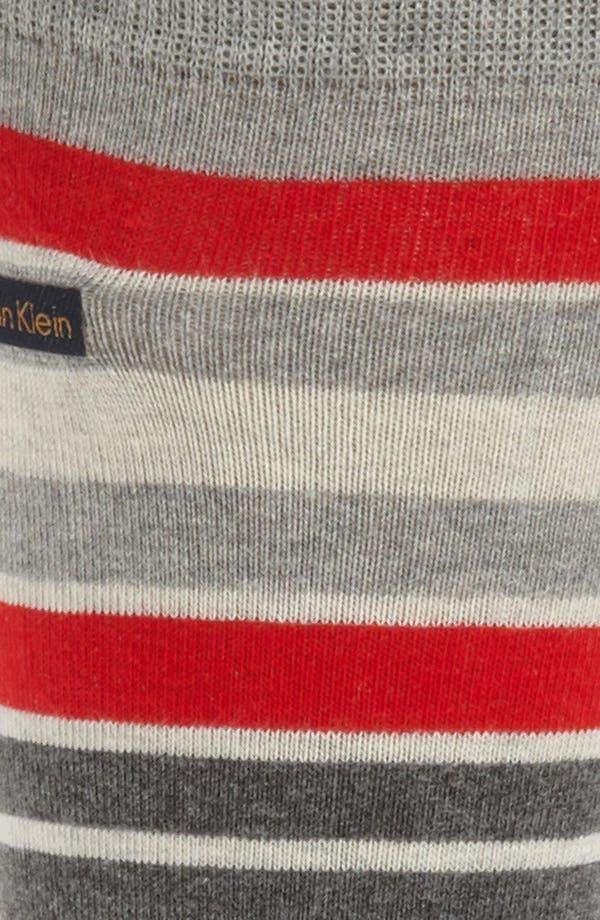 Alternate Image 2  - Calvin Klein Stripe Socks