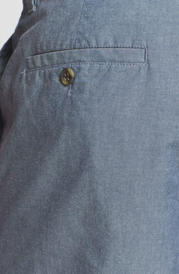 Alternate Image 3  - Wallin & Bros. 'Lanspur' Chambray Shorts