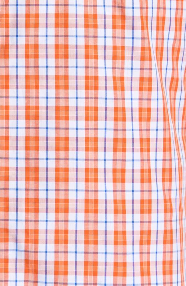 Alternate Image 3  - Peter Millar 'Copenhagen' Regular Fit Check Sport Shirt.